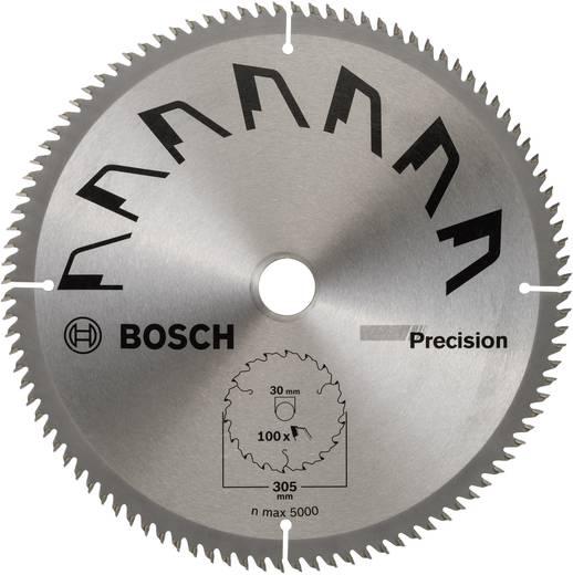Hartmetall Kreissägeblatt 305 x 30 mm Zähneanzahl: 100 Bosch Accessories Precision 2609256B60 1 St.