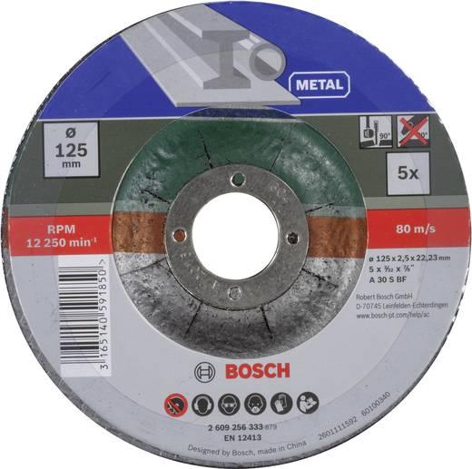 5tlg. Trennscheiben-Set gekröpft für Metall Bosch Accessories 2609256333 Durchmesser 125 mm 5 St.