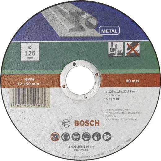 Trennscheibe gerade, Metall Bosch Accessories 2609256316 Durchmesser 125 mm 1 St.