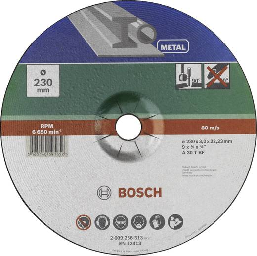 Trennscheibe gekröpft 230 mm 22.23 mm Bosch Accessories A 30 S BF 2609256313 1 St.