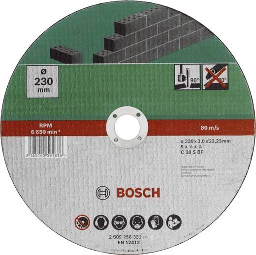 Trennscheibe gerade 230 mm 22.23 mm Bosch Accessories C 30 S BF 2609256331 1 St.