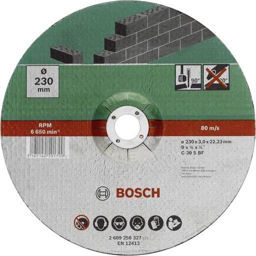 Trennscheibe gekröpft 230 mm 22.23 mm Bosch Accessories 2609256327 1 St.