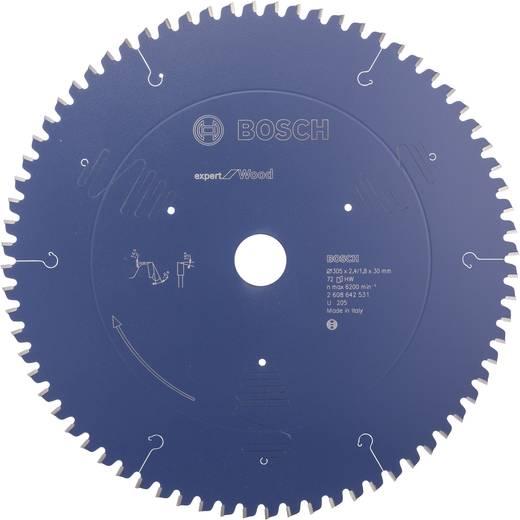 Kreissägeblatt Bosch Accessories 2608642531 Durchmesser: 305 mm Dicke:2.4 mm Sägeblatt