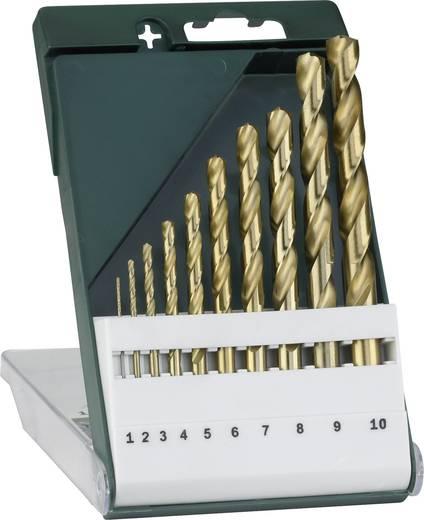 Bosch Accessories 2609255130 HSS Metall-Spiralbohrer-Set 10teilig 1 mm, 2 mm, 3 mm, 4 mm, 5 mm, 6 mm, 7 mm, 8 mm, 9 mm,