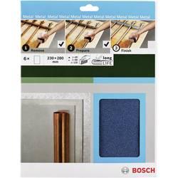 Sada ručného brúsneho papiera Bosch Accessories 2609256C43 zrnitosť 40, 80, 120, (d x š) 230 mm x 280 mm, 1 sada