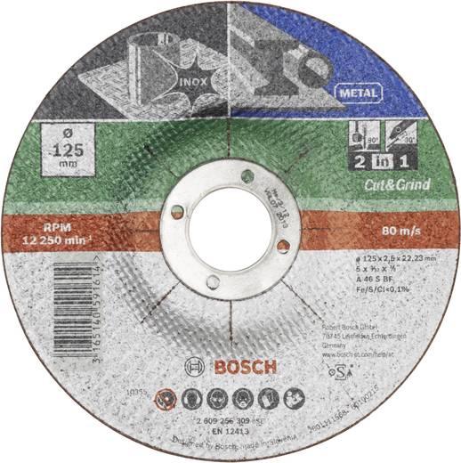 Trenn- und Schruppscheibe 125 mm 22.23 mm Bosch Accessories A 46 S BF 2609256309 1 St.