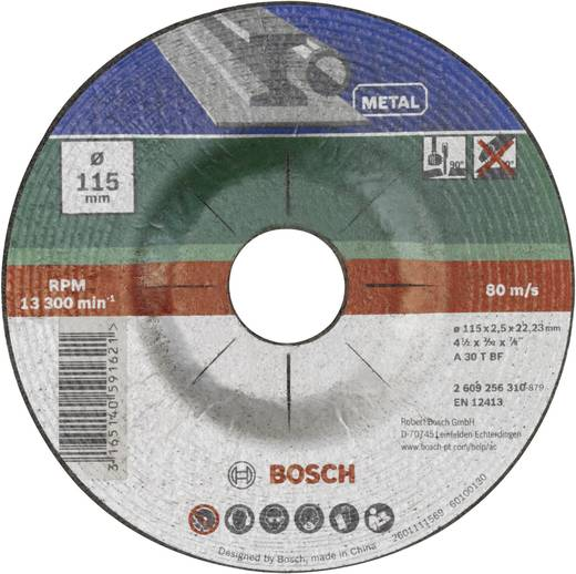 Trennscheibe gekröpft, Metall Bosch Accessories 2609256311 Durchmesser 125 mm 1 St.