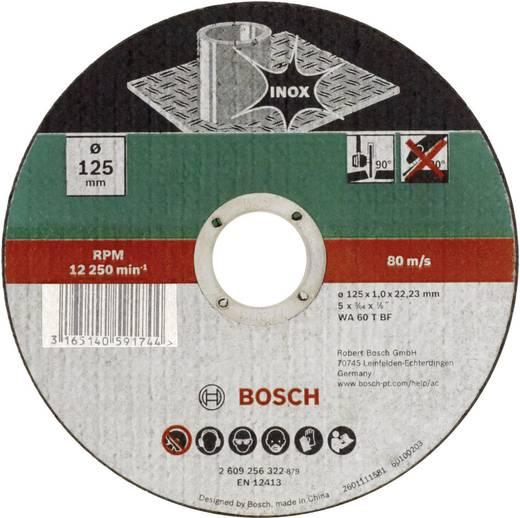 Trennscheibe gerade 125 mm 22.23 mm Bosch Accessories WA 60 T BF 2609256323 1 St.