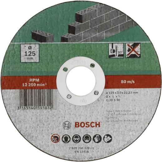 Trennscheibe gerade 125 mm 22.23 mm Bosch Accessories C 30 S BF 2609256329 1 St.