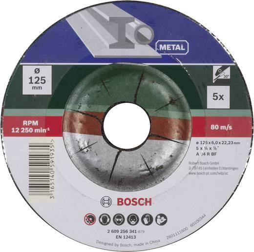 Bosch Accessories 2609256341 Schruppscheiben-Set gekröpft für Metall Ø 125 mm 5 St.