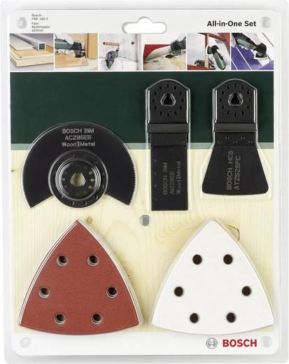Multifunktionswerkzeug-Zubehör-Set 5teilig Bosch Accessories 2609256977 Passend für Marke Fein, Makita, Bosch, Milwa