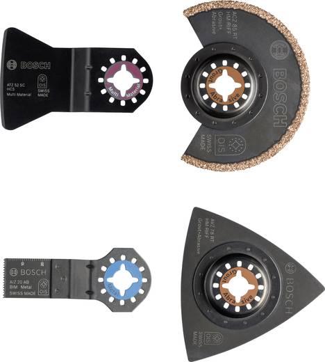 Multifunktionswerkzeug-Zubehör-Set 4teilig Bosch Accessories 2609256978 1 Set