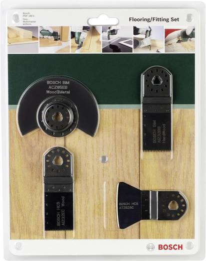 Multifunktionswerkzeug-Zubehör-Set 4teilig Bosch Accessories 2609256979 Passend für Marke Fein, Makita, Bosch, Milwa