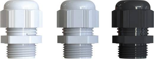 Kabelverschraubung PG9 Polyamid Licht-Grau (RAL 7035) Bimed BS-12 50 St.