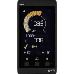 Image of GEO Solo II Display Pack LED Energiekosten-Messgerät Datenloggerfunktion, inkl. externem Display, LCD-Farbdisplay,
