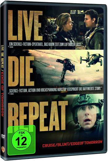 DVD Edge of Tomorrow FSK: 12