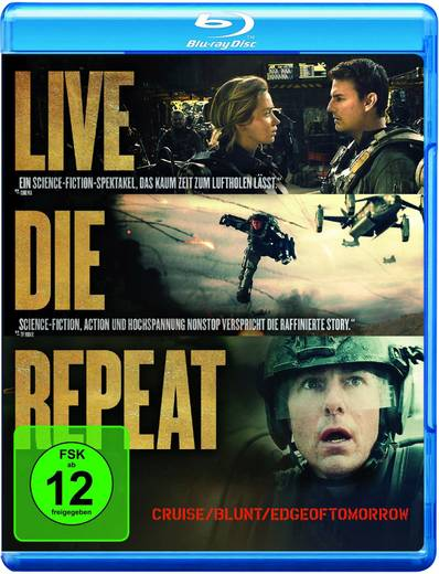 blu-ray Edge of Tomorrow FSK: 12