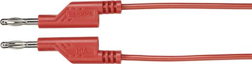 Messleitung [ Lamellenstecker 4 mm - Lamellenstecker 4 mm] 5 m Rot VOLTCRAFT MS5/RT