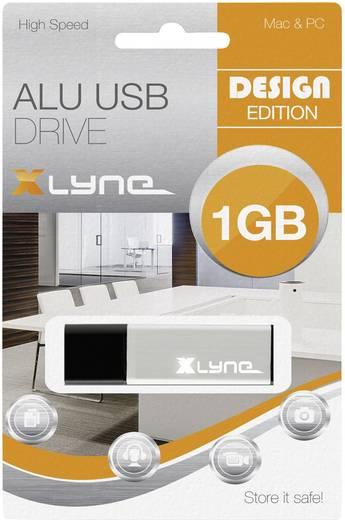 Xlyne ALU USB-Stick 1 GB Aluminium 177553 USB 2.0
