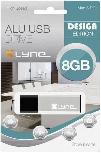 Xlyne ALU USB-Stick 8 GB Aluminium 177556-2 USB 2.0