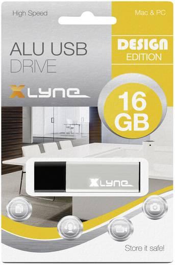 Xlyne ALU USB-Stick 16 GB Aluminium 177557-2 USB 2.0