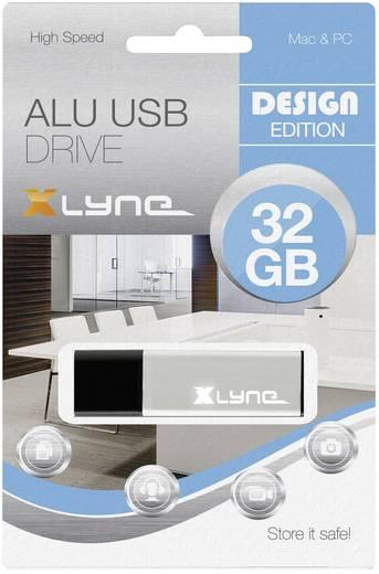USB-Stick 32 GB Xlyne ALU Aluminium 177561 USB 2.0