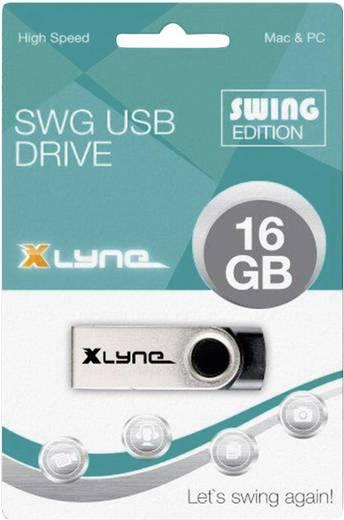 USB-Stick 16 GB Xlyne Swing Schwarz 177562 USB 2.0