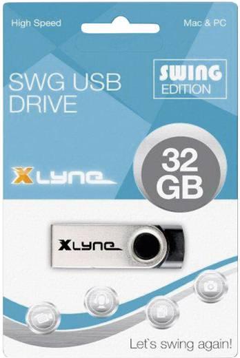 USB-Stick 32 GB Xlyne Swing Schwarz 177532 USB 2.0