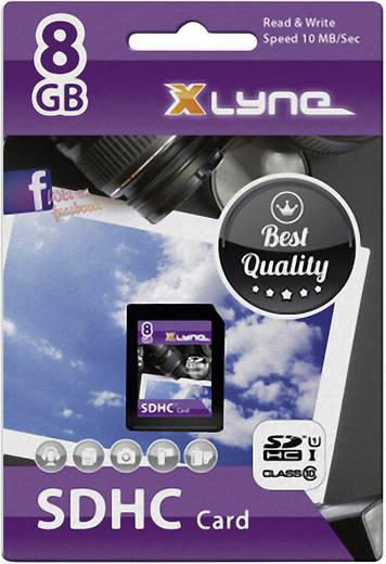 Xlyne 7308000 SDHC-Karte 8 GB Class 10, UHS-I