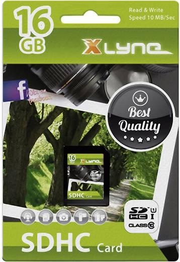 Xlyne 7316000 SDHC-Karte 16 GB Class 10, UHS-I