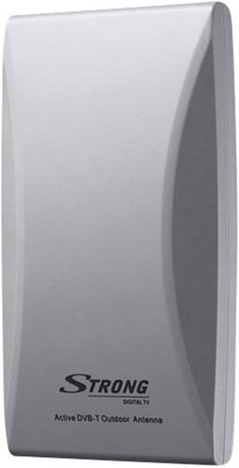 Aktive DVB-T/T2 Flachantenne Strong SRT ANT 45 Außenbereich Verstärkung=20 dB Grau