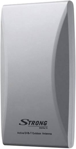 Strong SRT ANT 45 Aktive DVB-T/T2 Flachantenne Außenbereich Verstärkung=20 dB Grau