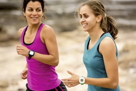 GPS-Pulsuhr ohne Brustgurt Garmin Forerunner 15 L Schwarz-Blau