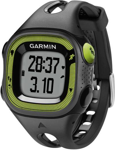 gps pulsuhr ohne brustgurt garmin forerunner 15 s schwarz gr n. Black Bedroom Furniture Sets. Home Design Ideas