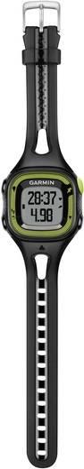 GPS-Pulsuhr mit Brustgurt Garmin Forerunner 15 S HRM-Bundle Schwarz-Grün