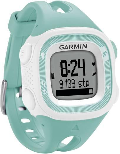 GPS-Pulsuhr ohne Brustgurt Garmin Forerunner 15 S Mint, Weiß