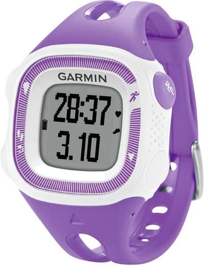 GPS-Pulsuhr mit Brustgurt Garmin Forerunner 15 S HRM-Bundle Violett, Weiß