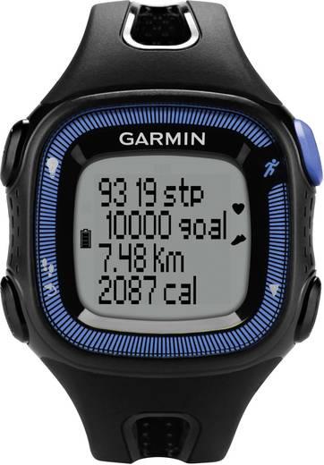 GPS-Pulsuhr ohne Brustgurt Garmin Forerunner 15 L Rot-Schwarz