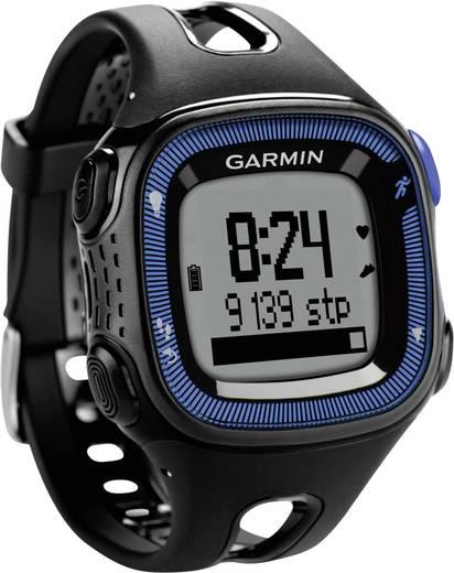 GPS-Pulsuhr mit Brustgurt Garmin Forerunner 15 L HRM-Bundle Schwarz-Blau