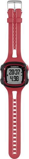 GPS-Pulsuhr mit Brustgurt Garmin Forerunner 15 L HRM-Bundle Rot-Schwarz