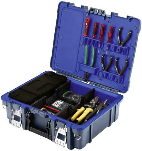 Werkzeugkasten unbestückt Küpper 50050 Polypropylen Schwarz, Blau