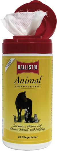 Ballistol 26575 Animal Pflegetücher 28 St.
