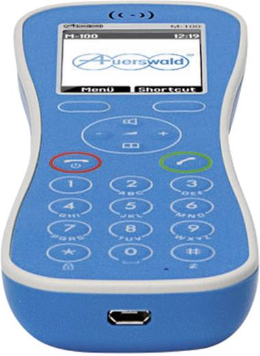 DECT Mobilteil Auerswald COMFORTEL M-100 Blau