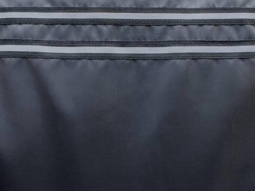 Eufab 28115 Werkstattschoner 2fach Polyester Schwarz, Silber (reflektierend) Fahrersitz, Beifahrersitz
