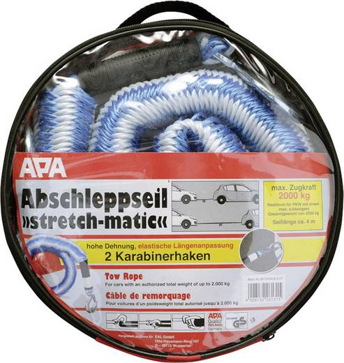 Abschleppseil APA 26131 Stretch-matic bis 2500 kg