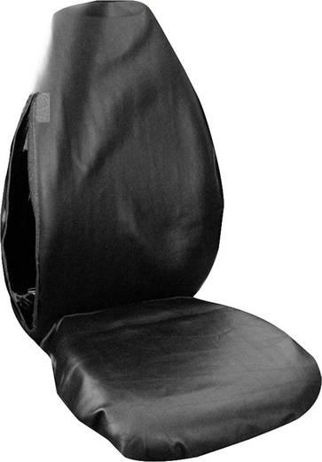 Eufab 28114 Werkstattschoner 1 Stück Kunstleder Schwarz Fahrersitz