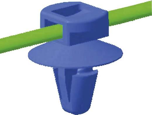 Kabelbinder 200 mm Schwarz mit Spreizanker und Teller HellermannTyton 150-37791 T50ROS-SFT6,5 16-3 1 St.