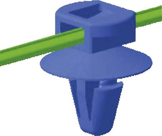 Kabelbinder 200 mm Schwarz mit Spreitzanker und Teller HellermannTyton 150-37792 T50RSFT6,5 16-3-MC5 1 St.