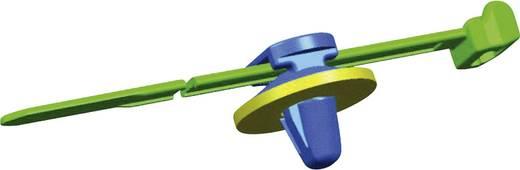 Kabelbinder 200 mm Schwarz mit Spreizanker am Teller gedichtet HellermannTyton 150-93100 T50ROSSFT6,5ZD 16-2 1 St.