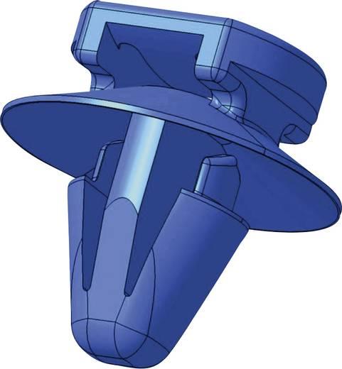 Kabelbinder 150 mm Schwarz mit Spreitzanker und Teller HellermannTyton 150-93130 T50SOSSFT6,5 16-2 OD 1 St.